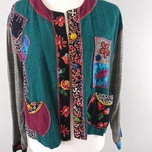 Vintage Other - Vintage Beaded Jacket & Skirt Set